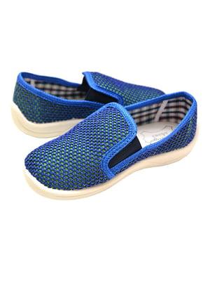 Слипоны синие   5778157