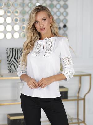 Блуза белая   5777918