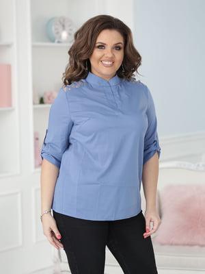 Блуза джинсового кольору   5777979
