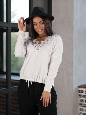 Пуловер белый | 5778017