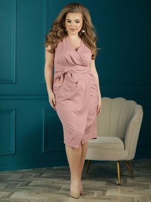 Сукня кольору пудри | 5778101