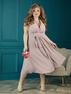 Платье цвета пудры   5778105