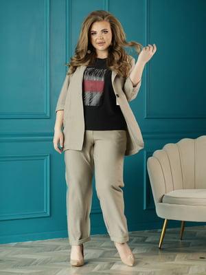 Костюм: жакет, футболка и брюки   5778118