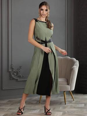 Платье цвета хаки | 5778111