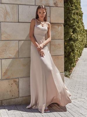 Платье бежевое   5777730