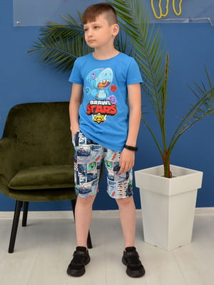 Комплект: футболка и шорты | 5779860