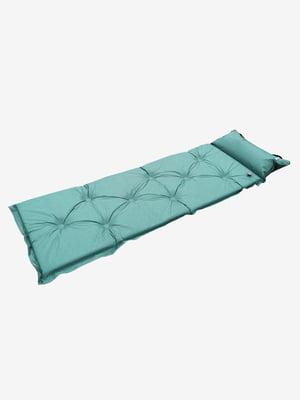 Надувной матрас бирюзовый   5780723