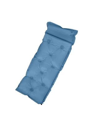 Надувний матрац блакитний | 5780724