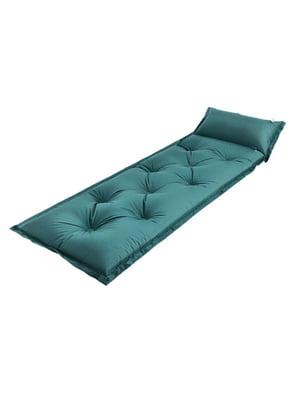 Надувной матрас зеленый   5780725