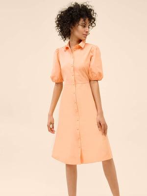 Платье кораллового цвета | 5780618