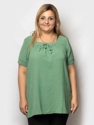 Блуза зеленая   5781654