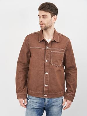 Куртка джинсова коричнева | 5780780