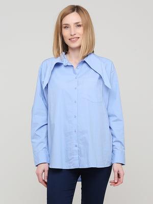 Сорочка блакитна | 5766711