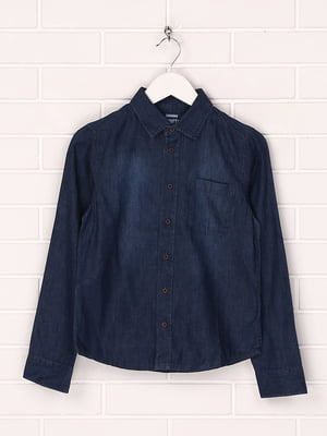 Рубашка синяя   5780342