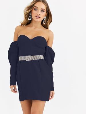 Платье синее   5780419