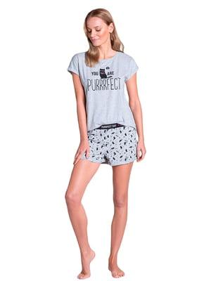 Піжама: футболка і шорти   5782238