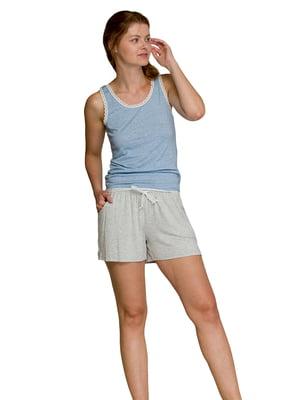 Пижама: майка и шорты   5782244
