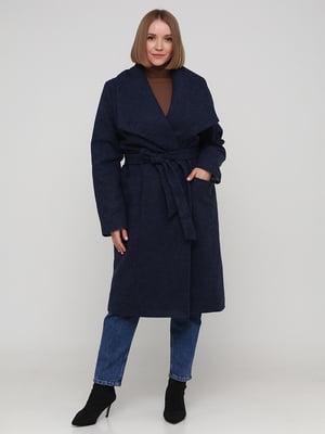 Пальто синє   5783290