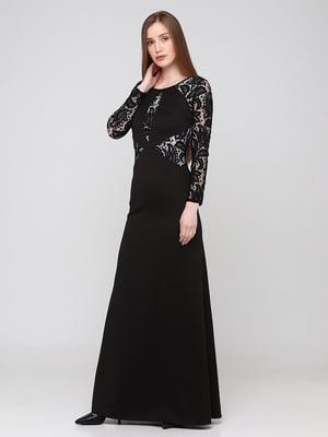 Сукня чорна з візерунком   5783365