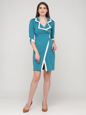 Сукня бірюзова   5783520