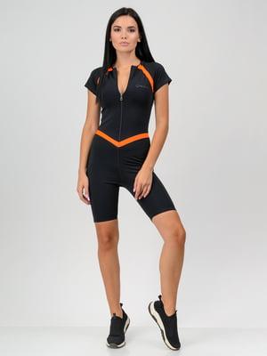 Комбинезон черно-оранжевый | 5784715