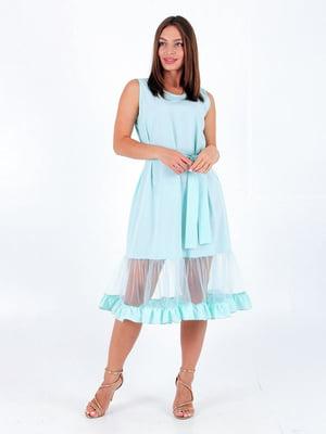 Сукня бірюзового кольору   5784822
