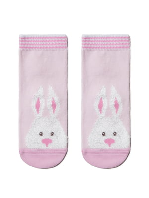 Шкарпетки рожеві з малюнком | 5698627