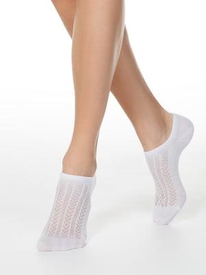 Носки белые с узором | 5698753