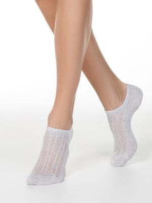 Носки серые с узором | 5698756
