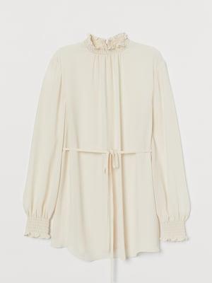 Блуза цвета айвори   5785730