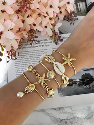 Набор браслетов на руку (5 шт) | 5786757