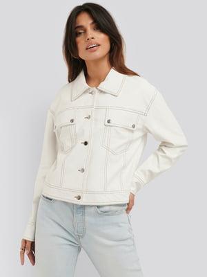 Куртка белая   5787841