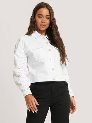 Куртка белая   5787864