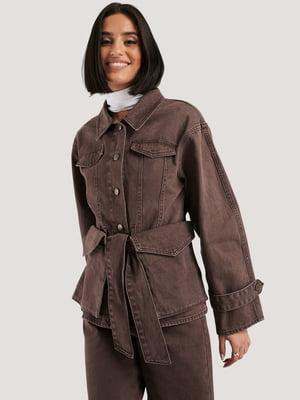 Куртка коричневая   5787865