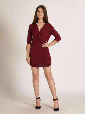 Сукня бордова   5794166