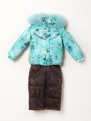Комплект: куртка и полукомбинезон | 5794203