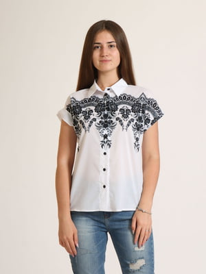 Сорочка біла з орнаментом   5796107