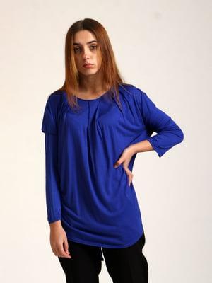 Блуза синяя | 5796856