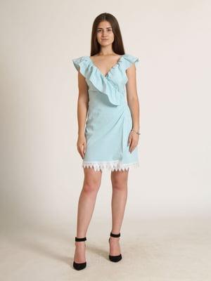 Сукня блакитна в смужку   5797107