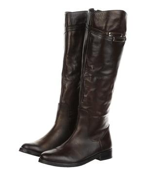 Чоботи коричневі   4905230