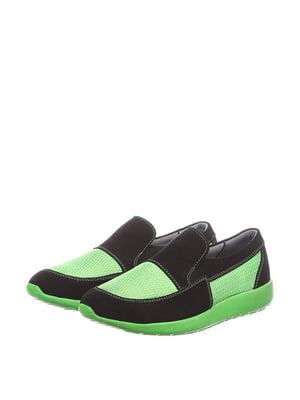Мокасини зелені | 5166136