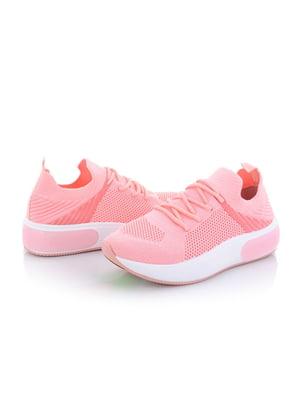 Кроссовки розовые | 5796670