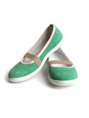 Балетки зеленые   5791317
