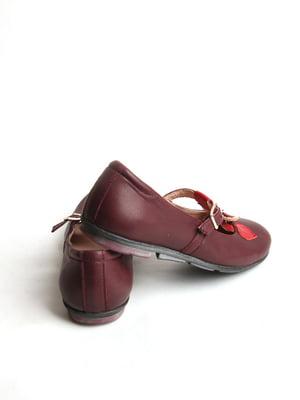 Туфли бордовые   5791455