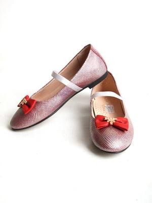 Туфли серебристого цвета   5791544