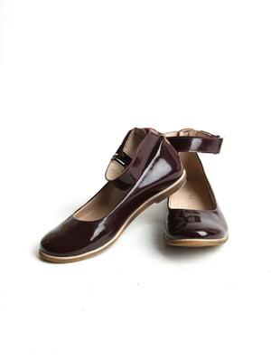 Туфли бордовые   5791571