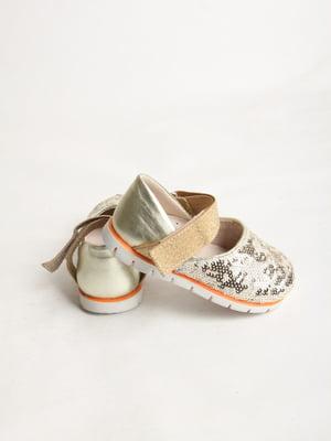 Туфли золотистого цвета   5791587