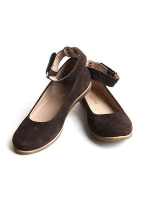 Туфли коричневые   5791604