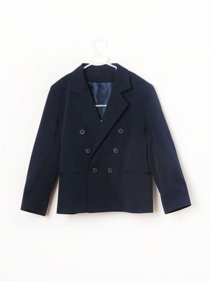 Пиджак синий | 5789705