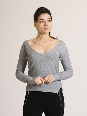 Пуловер сірий | 5790284
